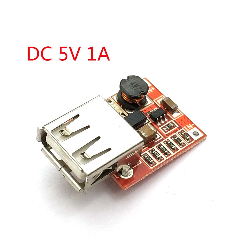 DC-DC Converter Output Step Up Boost Power Supply Module 3V to 5V 1A USB Charger For Phone MP3 MP4
