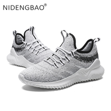 High Quality Men Sneakers Breathable Running Shoes For Men Outdoor Sport Lace-up Durable Jogging Sneakers Comfortable Footwear running shoes men high top lace up fashion breathable sport shoes jogging breathable mixed color soft footwear trainer sneakers