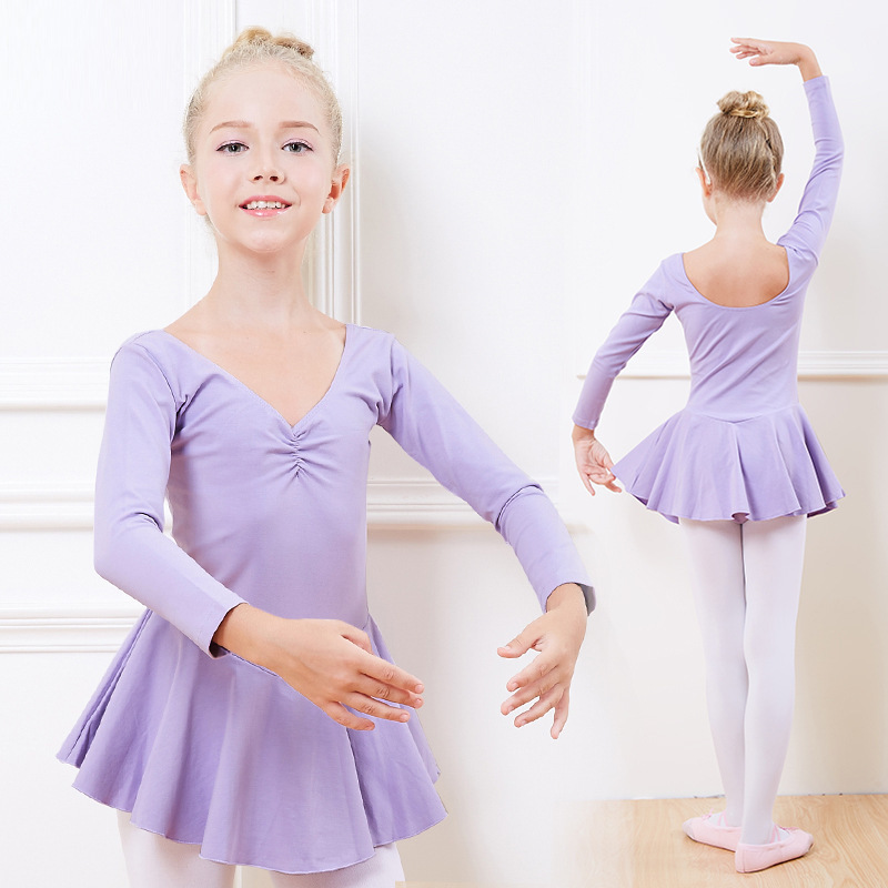 2018 Sale Special Offer Acrylic Gymnastics Leotard Ballet Dress For Children Professional Costumes For Girls Stage & Dance Wear