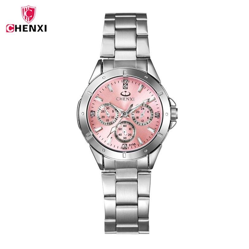 CHENXI Watches Women Dress 5 COLORS reloj moda mujer 2017 Watches saat Clock metal watch orologio donna relogio feminino 4750 relogio feminino dourado reloj mujer