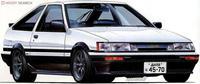 Assemble Car Model 1/24 Toyota AE 86 Levin 83 03865