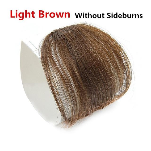 MERISI włosy włosy clip in Bangs syntetyczne powietrze grzywka cienkie niewidoczne rozszerzenie prosto przód schludny peruka dla kobiet tanie i dobre opinie MERISIHAIR Wysokiej Temperatury Włókna 1 sztuka tylko Clip-in Pure color Blunt bangs