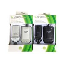 Двойная перезаряжаемая батарея+ USB зарядный кабель для xbox 360 беспроводной контроллер bateria xbox 360 EM88