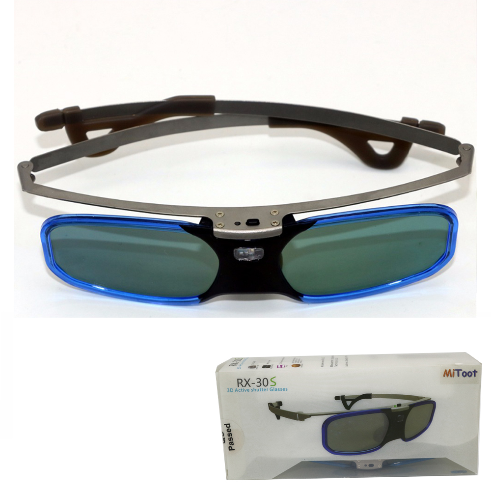 Óculos 3d óculos de Realidade Virtual Pernas de Metal para Benq ... 0d3b6e0cb0