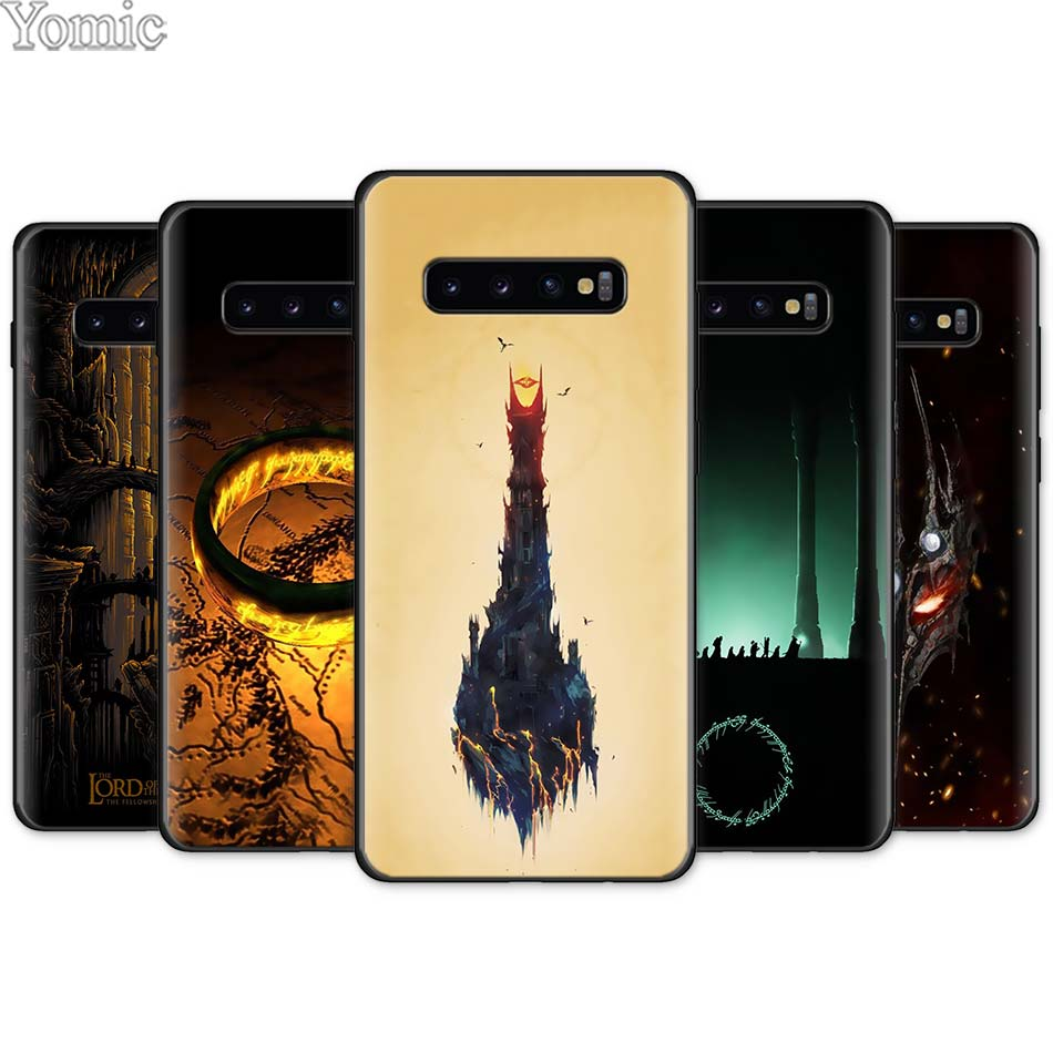 The Lord of the <font><b>Rings</b></font> Black TPU Soft <font><b>Case</b></font> for <font><b>Samsung</b></font> <font><b>Galaxy</b></font> S10e S10 S8 S9 Plus S7 A40 A50 <font><b>A70</b></font> Note 8 9 Silicone <font><b>Case</b></font> Cover image