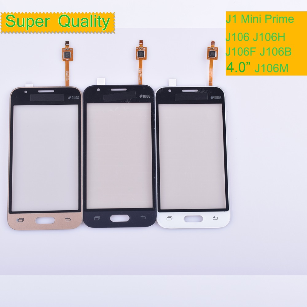50Pcs/lot For Samsung Galaxy J1 Mini Prime J106 J106H J106F J106M SM J106F Touch Screen Panel Sensor Digitizer Glass Touchscreen-in Mobile Phone Touch Panel from Cellphones & Telecommunications    1