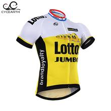2016 New Team Lotto Breathable Cycling Jersey Short Quick Dry MTB Bicycle Bike/Riding Clothing For Man
