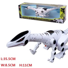 Children's Favourite With Gift In Retail Box Jurassic Park World Sounding Flashing Plastic Electronic Dinosaur Toy Kids Toys