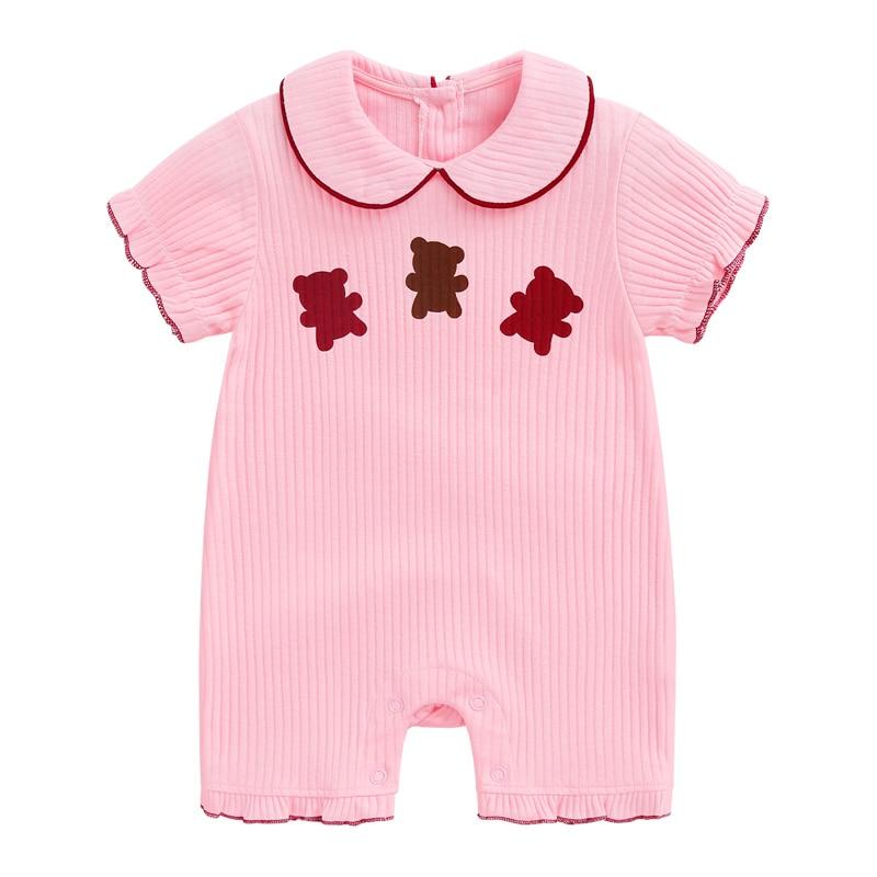 DenimSeason 0-36m Summer Baby Rompers Baby Jumpsuit White Newborn Jumpsuit Baby Girls Rompers Fantasia Clothes Infantil Onesie