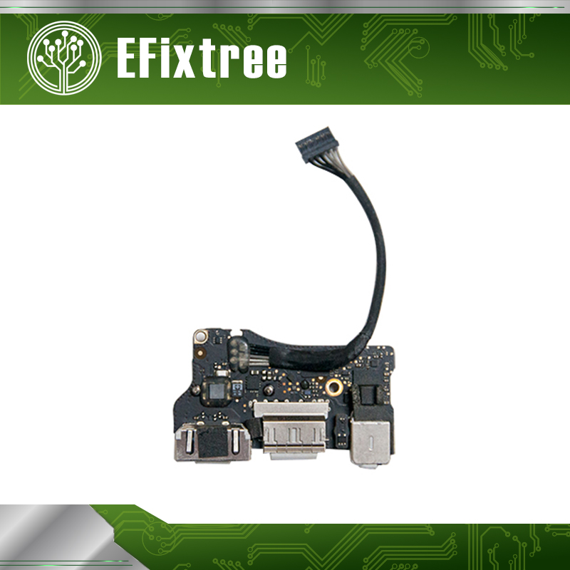 Original DC in USB Jack Power Audio DC-IN Board 820-3455-A for Apple MacBook Air 13 A1466 2013-2015 Year MD760 MJVE2 ноутбук apple macbook air 13 128gb md760 11