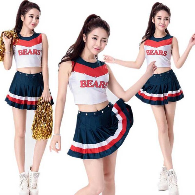 DJGRSTER Cheerleading Glee Cheerleader Costume Aerobics Clothing Uniforms for Performances Halloween Fancy Top+Skirt  sc 1 st  AliExpress.com & DJGRSTER Cheerleading Glee Cheerleader Costume Aerobics Clothing ...