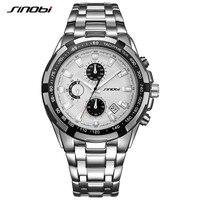 SINOBI R Elojes H Ombre 2017 Masculinoยอดแบรนด์หรูธุรกิจนาฬิกาควอทซ์โครโนกราฟบุรุษนาฬิกาผู้ชายนาฬิกาข้อมือกันน...