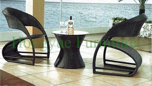 Outdoor garden rattan table chair furniture set modern design white holiday leisure sofa chair rattan sea beach swing pool gardern furniture wicket 1 table 4 chair garden set