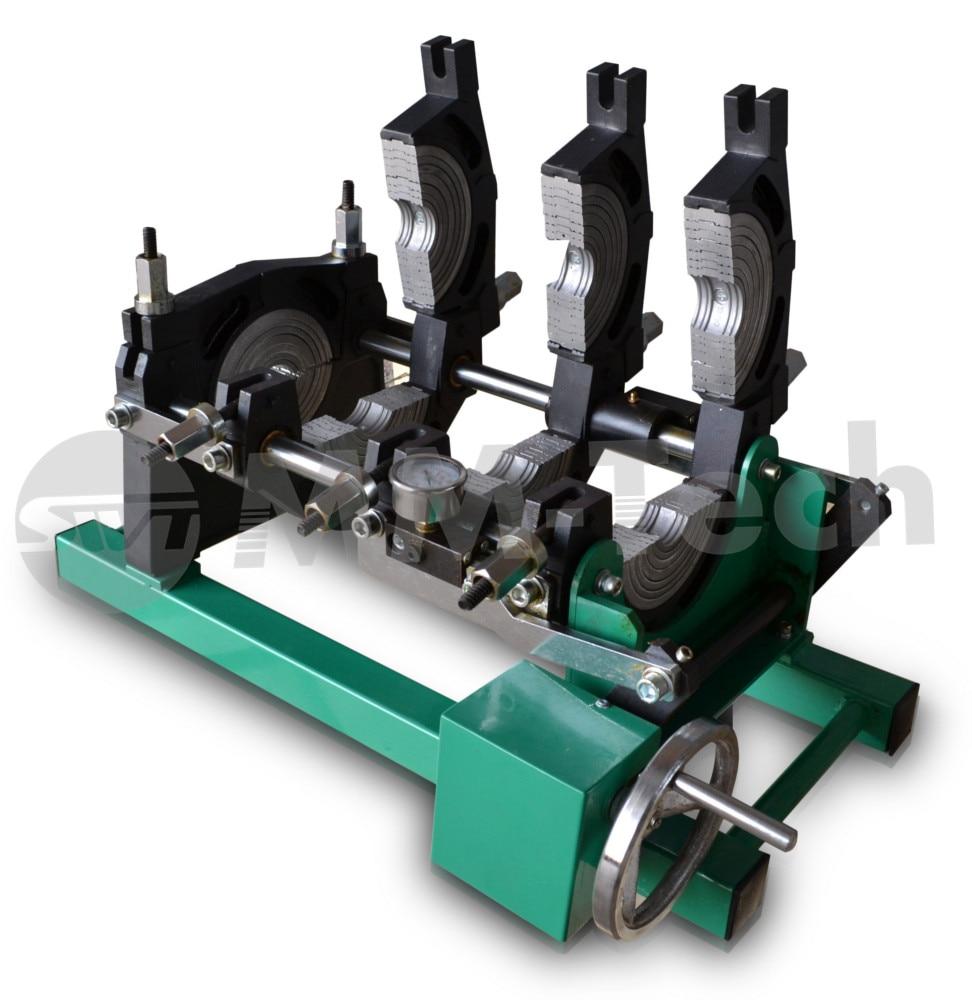 MACHINE de soudure bout à bout de tuyau de HDPE 50-200mm