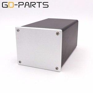 Image 5 - GD PARTS 1 PC boîtier de châssis en aluminium complet pour Hifi Tube amplificateur projet de puissance bricolage 134x114x209mm