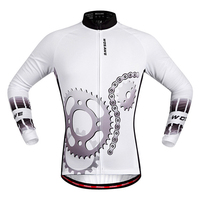 Tour De France Bicycle Cycling Jersey Cycle Clothing Bike Men Breathable Cycling Jackets Long Sleeve Winter