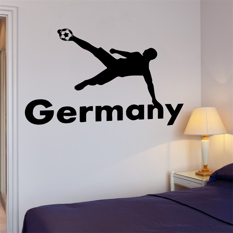 Decal Soccer Football Germany Ball The Best Sport In The World Cool image