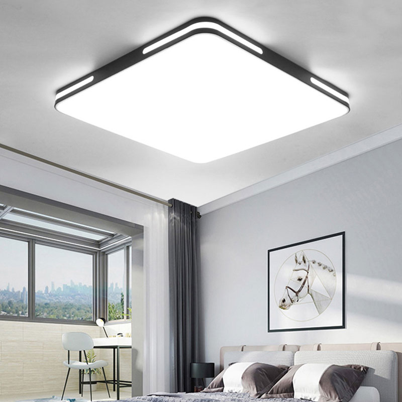 24W LED Ceiling Light AC90 265V Square Shape Lamp for Study Dining Room Bedroom Living Room Balcony Ceiling Lamp Home Decor|Ceiling Lights| |  - title=