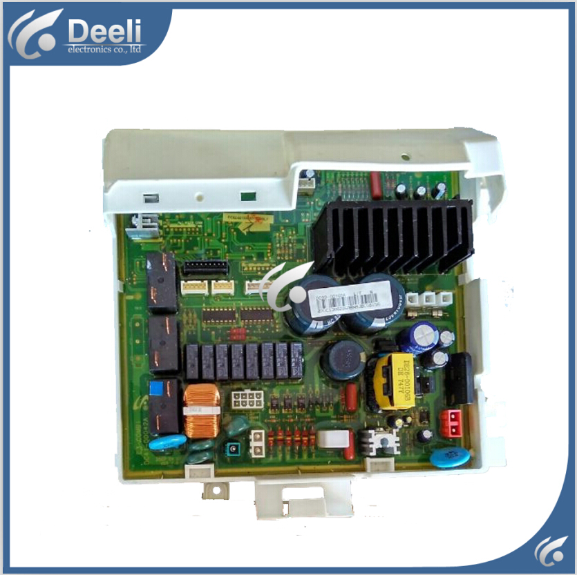 Free shipping 95% new Original for Samsung washing machine Computer board WD7602R8D motherboard Frequency board 100% tested for washing machines board xqsb50 0528 xqsb52 528 xqsb55 0528 0034000808d motherboard on sale