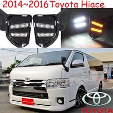 2005 ~ 2009/2014 ~ 2016 Hiace luz diurna, Libera la nave! LED, luz Hiacefog, 2 unids/set, corolla, camry, reiz, Prado, Yaris L, Levin