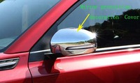 Higher star ABS chrome 2pcs car door mirror decoration cover,protection cap for Suzuki Grand Vitara 2016,S cross 2010 2015