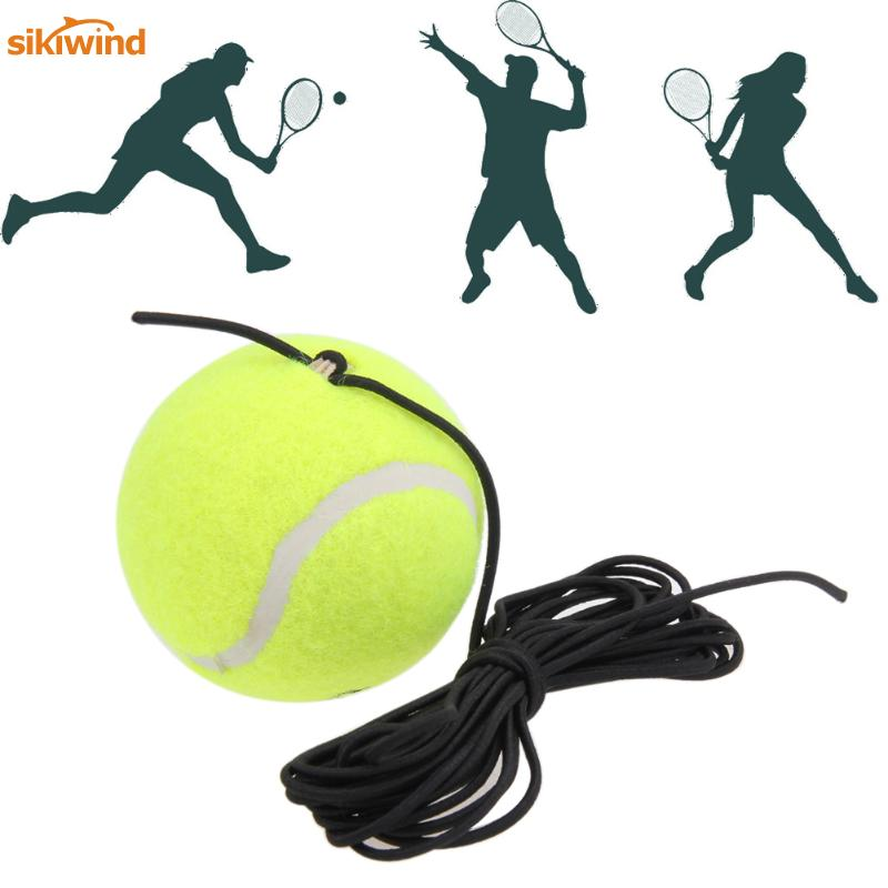 High Quality Single Package Drill Tennis Trainer Tennis Tool With String Replacement Rubber Woolen Training Tennis Accessories
