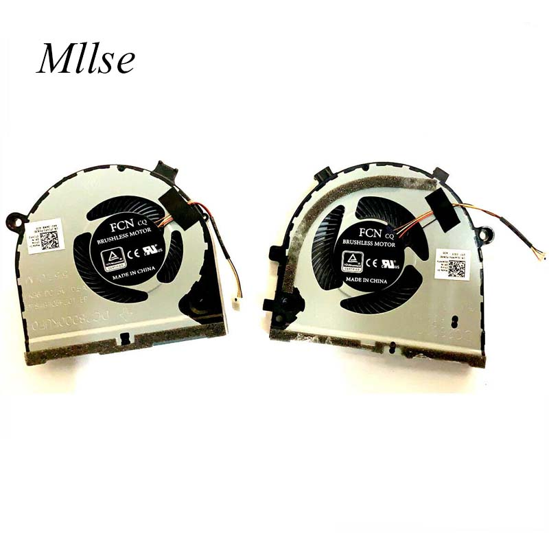 Free Shipping Original Laptop GPU Cooling Fan for <font><b>Dell</b></font> inspiron G3-3579 <font><b>3779</b></font> G5 5587 Notebook Cooler 0GWMFV DFS551205ML0T FKB7 image
