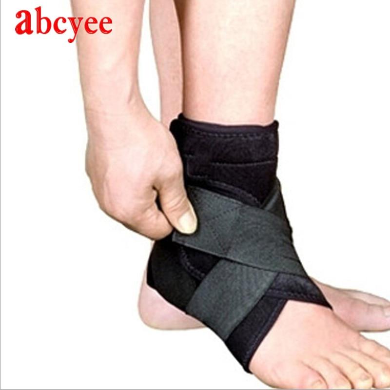 Apoyo de tobillo ajustable Brace para el cuidado de los pies de - Ropa deportiva y accesorios