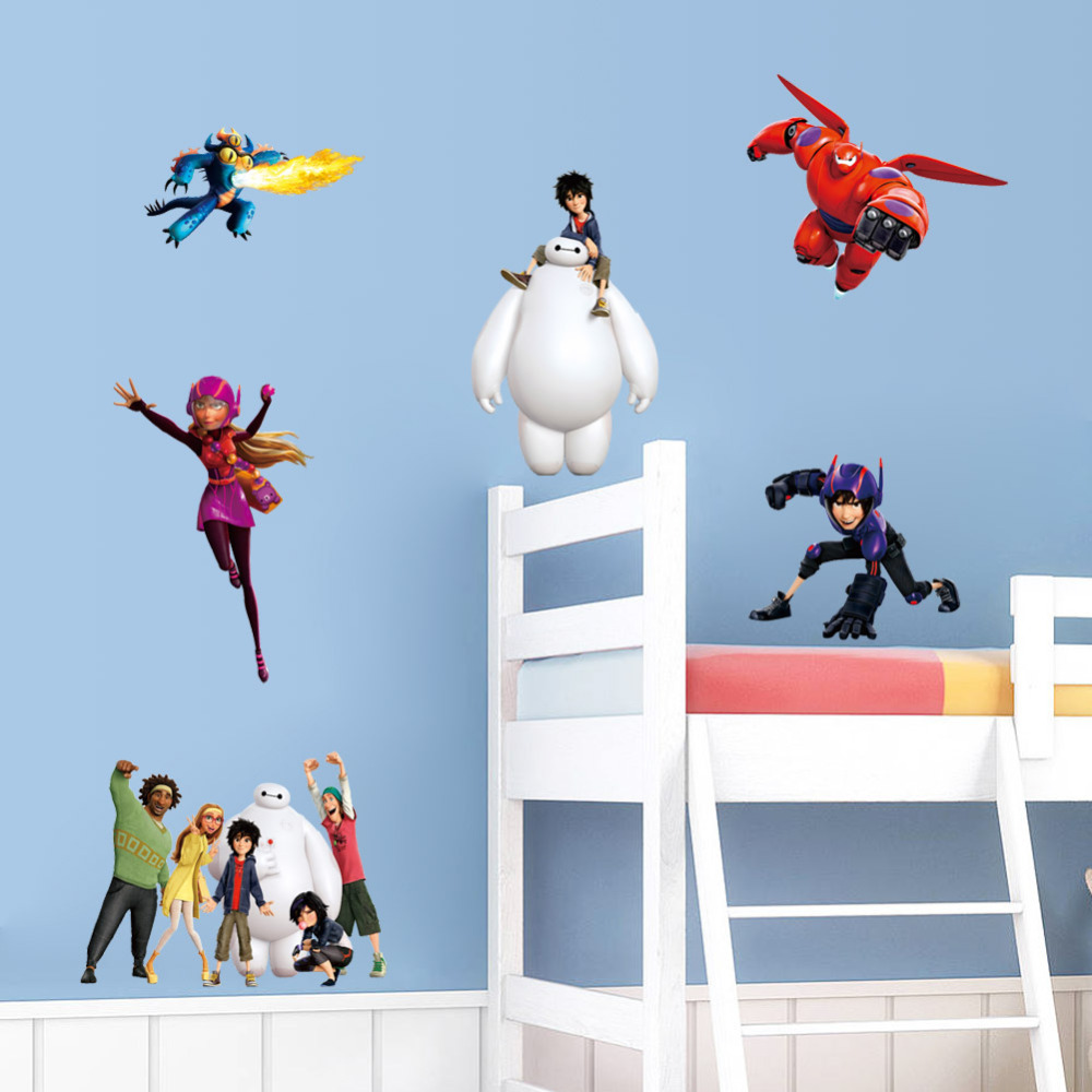 top most popular big hero baymax wall decoration ideas and