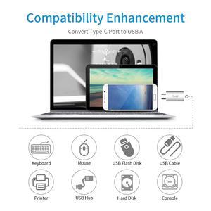 Image 2 - Onvian OTG Typ C Adapter USB 3.0 Männlichen zu USB 3.1 Typ C Weibliche Typ C zu USB Adapter für laptop Samsung Huawei