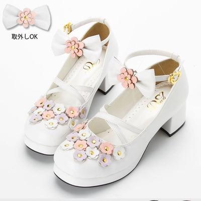 2019 vente nouveau rêve à la recherche Lolita doux soeur chaussures princesse Profusion fleurs de printemps fabricants vente en gros prix