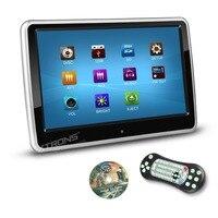 Xtrons 10 Сенсорный экран автомобиля Подушки Детские Активный подголовник Мониторы DVD/USB/SD плеер диск с игрой