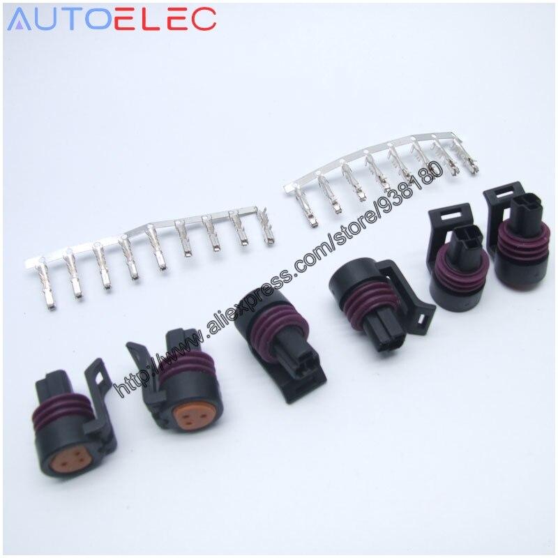 3p car plug socket volkswagen throttle sensor plug automotive connector 12078090 Throttle Position Sensor Pigtail GM