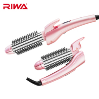 RIWA Comb Curlers Curling Iron Multi function Scald Proof Folding Styling Tool Straighten Hair Curly Iron For Hair RB 8310