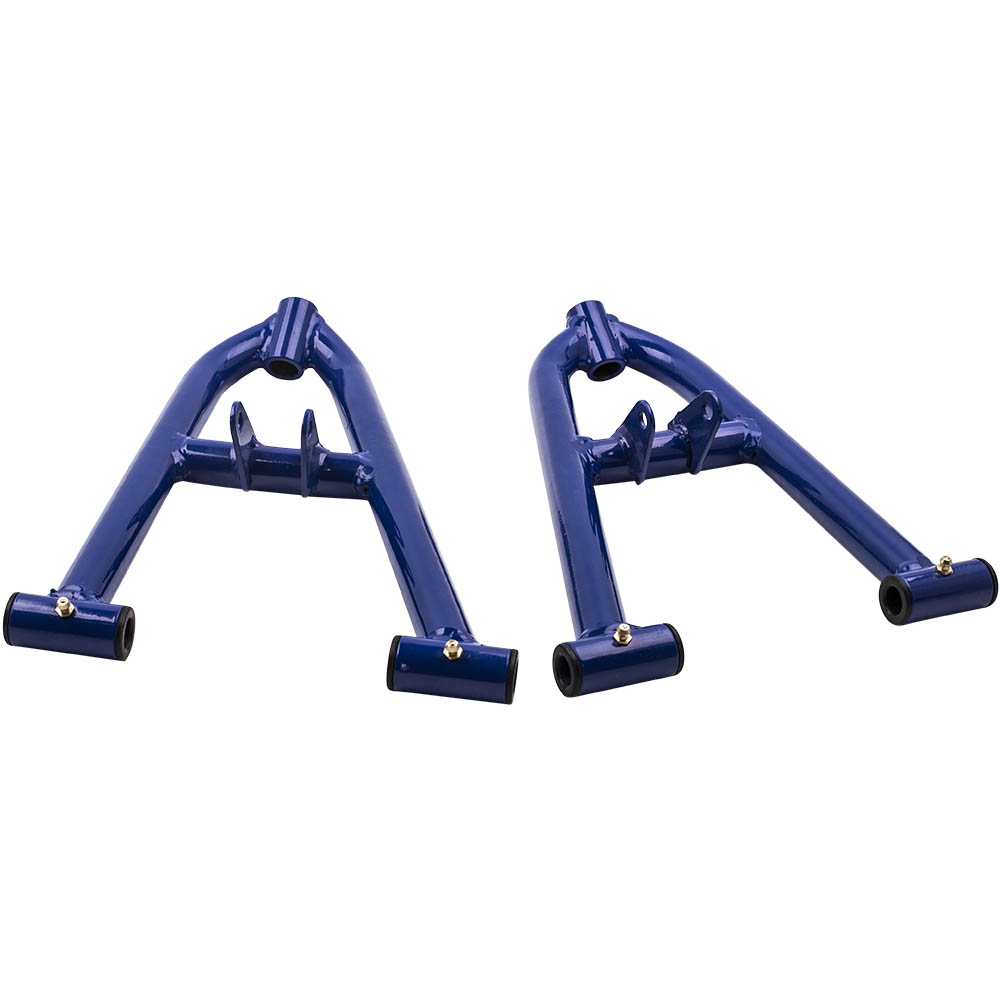 For Yamaha Banshee 350 ATV A Arm Kit Adjustable Control Arm Left Right  Front Upper Lower Blue