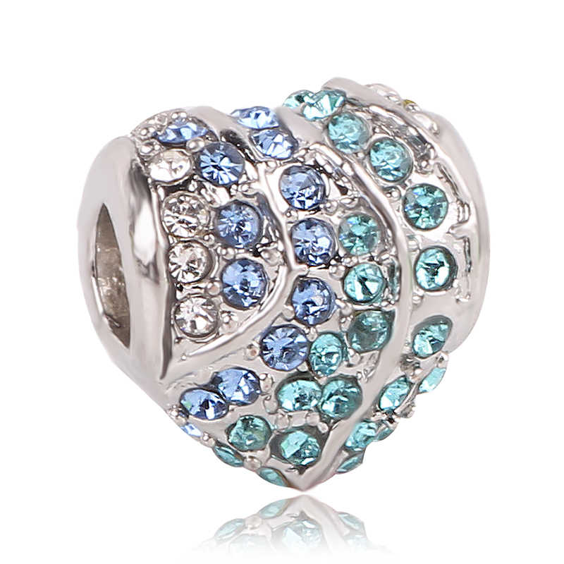 Dodocharms 2019 Tianma Радуга Любовь цветок Звезда бисер серебряного цвета талисманы подходят оригинальный Pandora браслет женские ювелирные изделия
