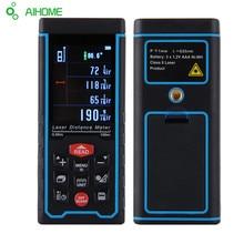 Herramientas de Medición de Distancia Láser Digital Telémetro Láser Ángulo Altura Medidor Probador Telémetro Del Telémetro Cinta