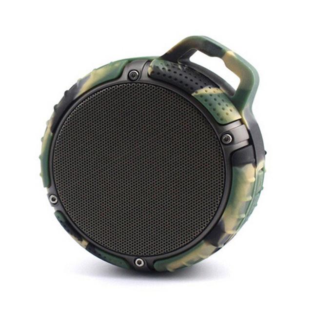 Ipx7 resistente à água mini speaker sem fio bluetooth speaker portátil à prova d' água ao ar livre super bass gancho shock-resistant speaker