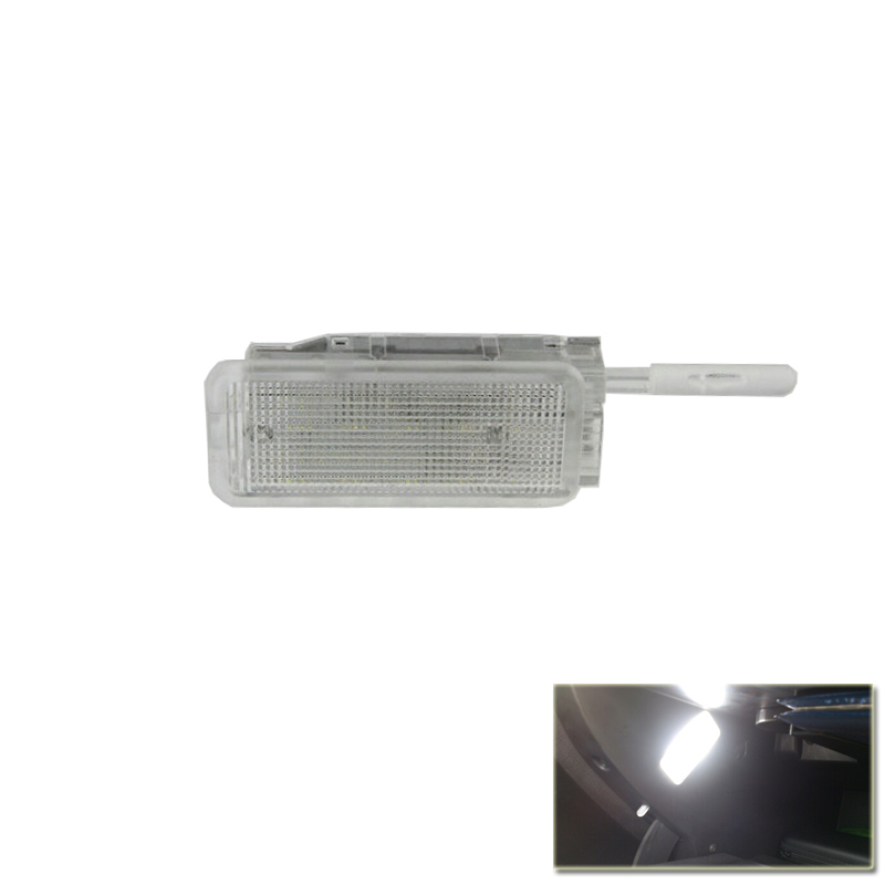 Plug N Play Xenon White Led Glove Box Light font b Lamp b font For Peugeot