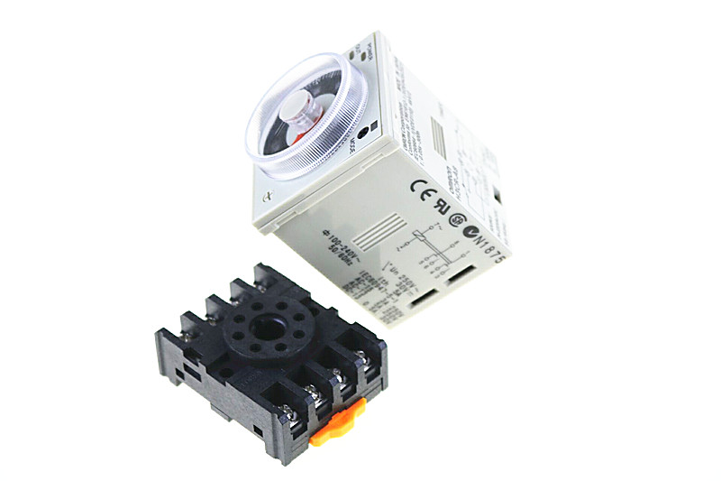 цена на H3CR-A8 8 pin AC/DC 24-240V time relay 24-240VAC/24-240VDC timer