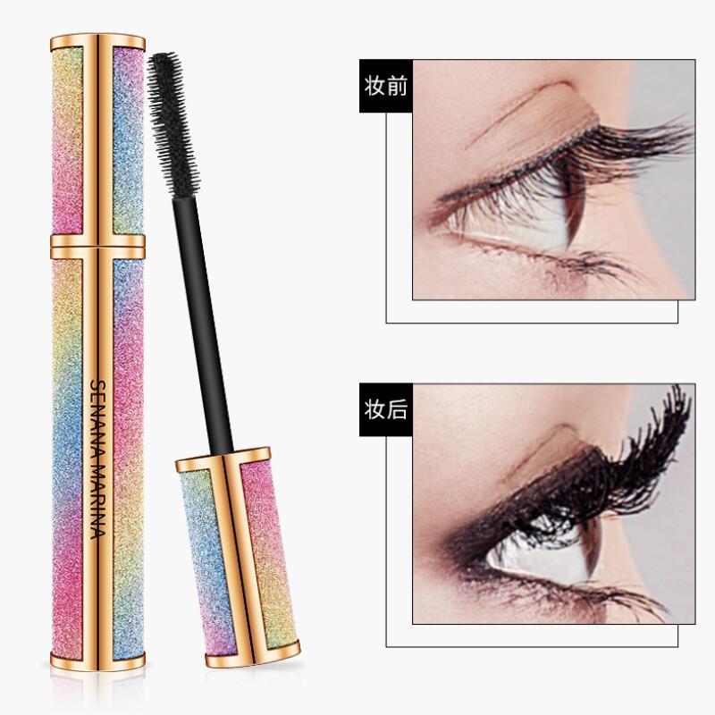 Eyelash Mascara Waterproof Full Professional Makeup Long Curling Thick Eyelash Extend Cosmetics Bright Starry