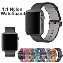 2016 Pour Apple Watch Bandes 42mm 1:1 D'origine Tissé Nylon iwatch Bracelet Tissu Lien Bracelet Remplacement Bracelets iWatch 38mm