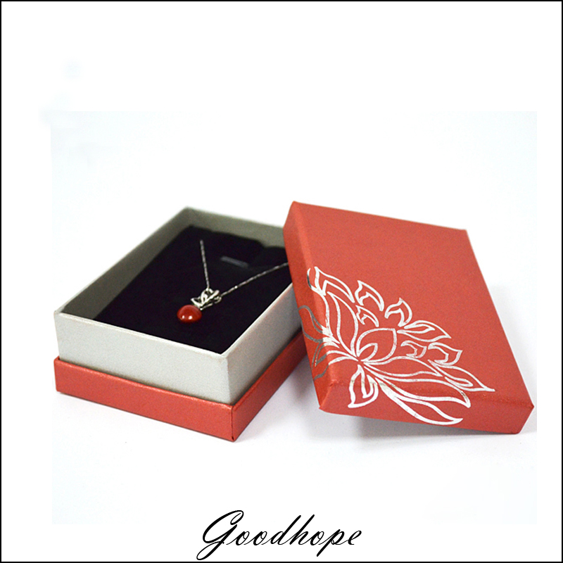 Wholesale 24 pcs Red Cardboard Jewelry Pendant Earrings Paper Gift