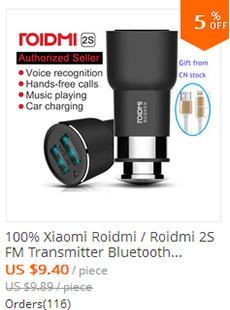 Roidmi 2S FM Transmitter