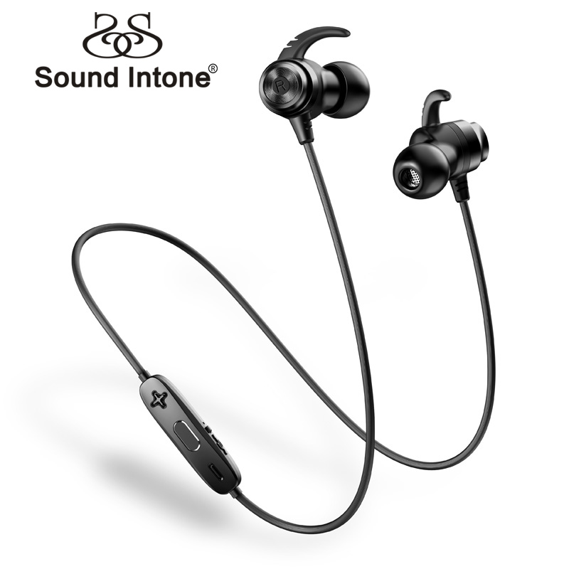 Sound Intone H18 Bluetooth Earphone Double Battery Sports IPX7 Waterproof Wireless Earphones With Mic For Phone iPhone Xiaomi