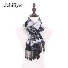 Jzhifiyer men rayon soft muslim scarfs male paisley scarf pashmina shawl tartan warm cozy brand homme unisex muffler