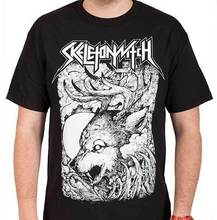 d273c72c69d5d SKELETONWITCH Wolf T SHIRT Brand New Official T Shirt camisetas futbol  replicas 2016(China)