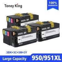 3 комплекта совместимый картридж Замена для HP 950 951 XL для HP Officejet Pro 8100 8600 8610 8620 8630 251dw 276dw 8650