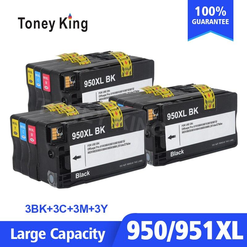 3 ensemble Compatible Cartouche D'encre De Remplacement pour HP 950 951 XL pour HP Officejet Pro 8100 8600 8610 8620 8630 251dw 276dw 8650