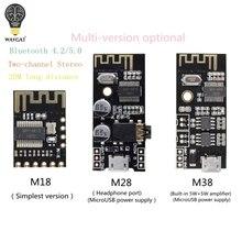 WAVGAT MH MX8 سماعة لاسلكية تعمل بالبلوتوث MP3 استقبال الصوت مجلس BLT 4.2 mp3 عدة فك ضياع